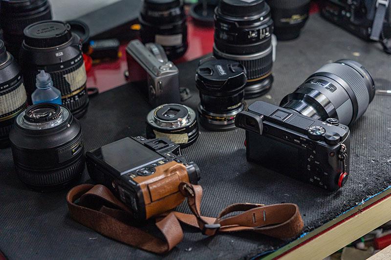 trouver un réparateur pour un appareil photo