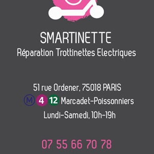 Réparation avec Smartinette à Paris 18ème