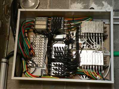 Photo de réparation de télévision n°1006 à Perpignan par le réparateur ANTENNE PARABOLE RESEAUX