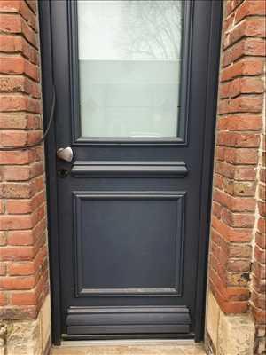 Exemple de réparation de porte d'entrée et de serrure n°1065 à Amiens par Opendoor