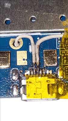 Exemple de réparation de circuit électronique n°109 à Dijon par ESD-LED