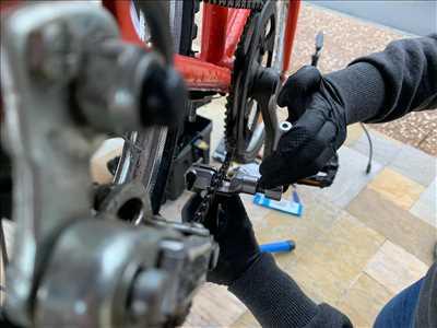 Photo de réparation de vélo n°1112 à Vienne par Chronovelo