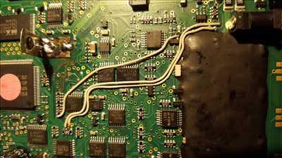 Photo de réparation de carte électronique n°112 à Dijon par ESD-LED