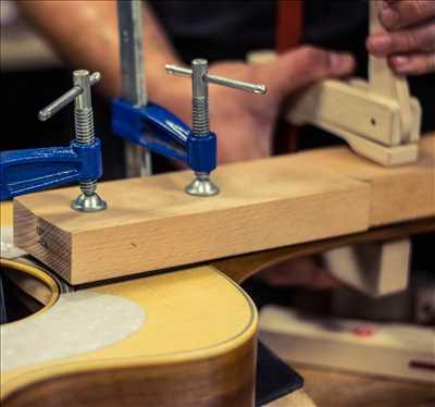Exemple de réparation d'instrument de musique n°1145 à Vienne par Eva Musique