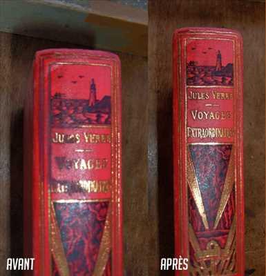 Photo de restauration de livre n°1200 à Dijon par Maël