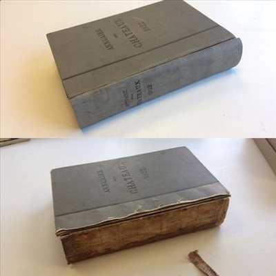 Photo de restauration de livre n°1203 dans le département 21 par Maël