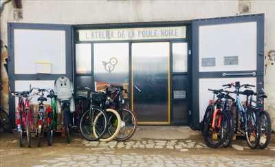 Photo de réparation de vélo n°1218 à Nantes par le réparateur SCOP SARL ATELIER DE LA POULE NOIRE