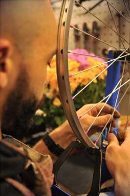 Photo de réparation de bicyclette n°1219 dans le département 44 par SCOP SARL ATELIER DE LA POULE NOIRE