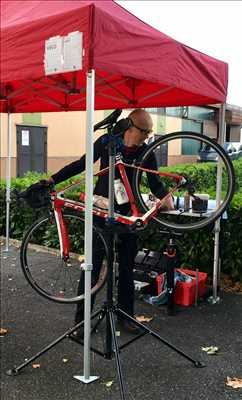 Exemple de réparation de bicyclette n°125 à Rodez par Mister Vélo