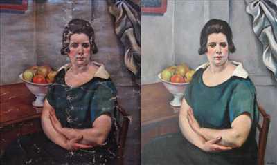 Photo de restauration de tableau n°1284 à Chantilly par Atelier Nolde