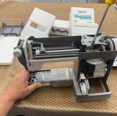 Photo de réparation de machine à coudre n°166 à Mulhouse par le réparateur FIL D ANGE