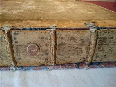 Photo de restauration de livre n°1795 dans le département 67 par Sarl Atelier de reliures Marchal