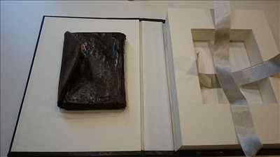 Exemple de restauration de livre n°1797 à Strasbourg par Sarl Atelier de reliures Marchal