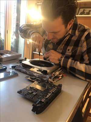 Photo de réparation informatique n°1816 à Lyon par Bastos Électronique