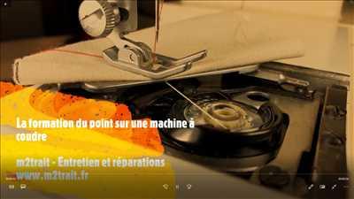 Exemple de réparation de machine à coudre électrique et électronique n°1837 à Orléans par M2TRAIT