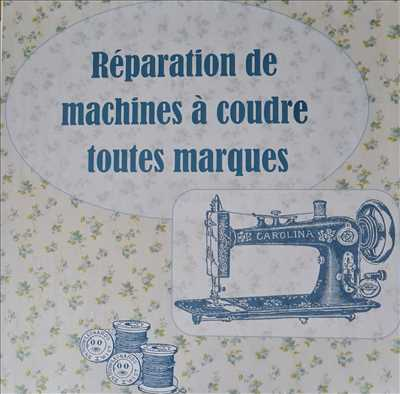 Photo de réparation de machine à coudre n°1848 à Bourges par Cedric