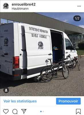 Exemple de réparation de bicyclette n°1853 à Saint-Etienne par En roue libre