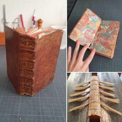 Photo de restauration de livre n°1874 à Nancy par le réparateur L'Arbre à Pages - Pool d'Avenir