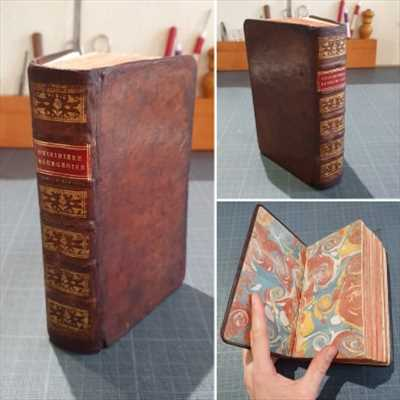 Photo de restauration de livre n°1875 dans le département 54 par L'Arbre à Pages - Pool d'Avenir