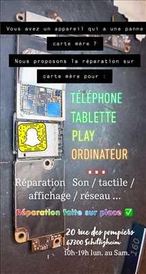 Photo de réparation de téléphone n°1914 à Strasbourg par le réparateur PHONEHUB