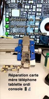Exemple de réparation de circuit électronique n°1917 à Strasbourg par PHONEHUB
