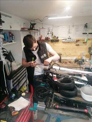 Exemple de réparation de trottinette électrique adulte et enfant n°2013 à Grenoble par ZE Trott' Store