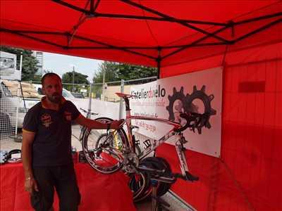 Photo de réparation de vélo n°206 à Cherbourg par le réparateur L'atelierduvélo