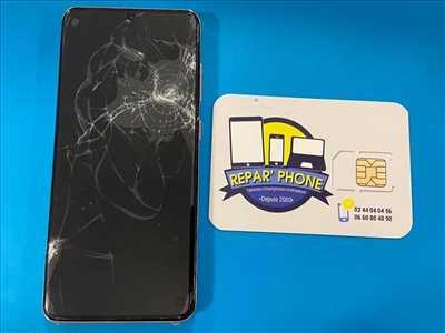 Exemple de réparation de smartphone n°2077 à Beauvais par EURL Repar' Phone