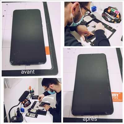 Exemple de réparation de smartphone n°2089 à Mont-de-Marsan par AVELIS CONNECT
