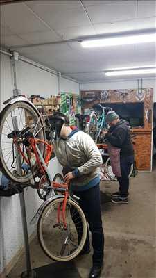 Photo de réparation de vélo n°210 à Metz par le réparateur Prenons le guidon