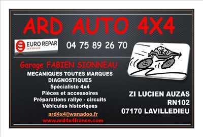Photo de réparation de voiture n°2128 à Aubenas par ARDE AUTO 4X4