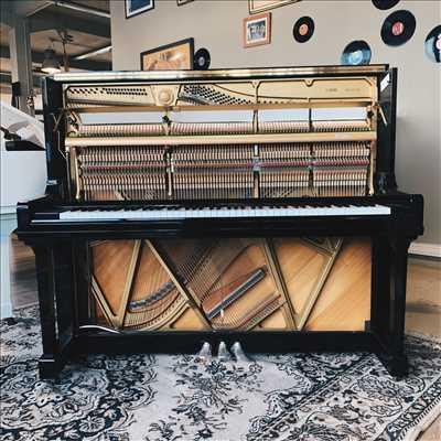 Exemple de réparation d'instrument de musique n°2129 à Caen par Bonnaventure Piano