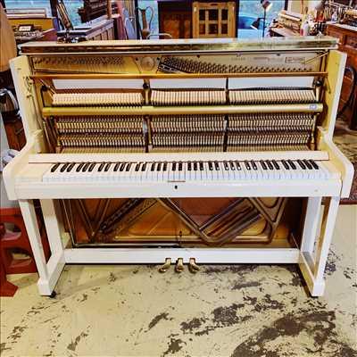 Photo de réparation d'instruments de musique n°2130 à Caen par le réparateur Bonnaventure Piano