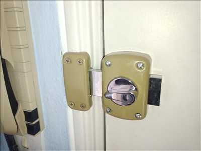 Photo de réparation de porte d'entrée et de serrure n°2191 dans le département 57 par SPM dépannage