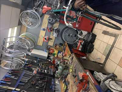 Photo de réparation de vélo n°2210 à Montreuil par le réparateur Fast réparateur