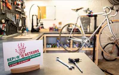 Photo de réparation de vélo n°2290 à Quimper par le réparateur Épopée cycles