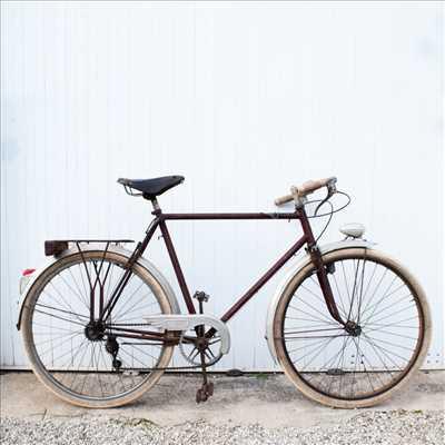 Exemple de réparation de bicyclette n°2293 à Quimper par Épopée cycles
