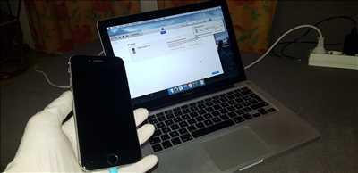 Exemple de réparation de smartphone n°2313 à Paris par sarl cts Paris