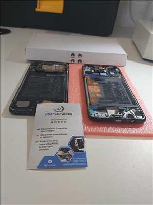 Exemple de réparation de smartphone n°2321 à Cholet par FM SERVICES