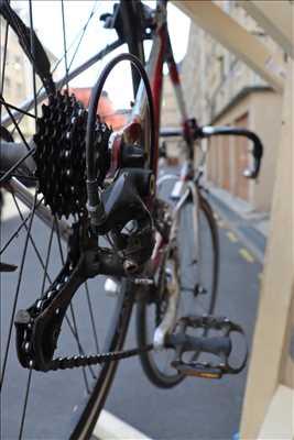 Exemple de réparation de bicyclette n°2329 à Caen par Raphaël