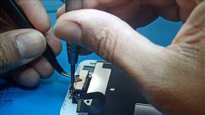 Photo de réparation de téléphone n°2350 à Lamballe-Armor par le réparateur off on repair