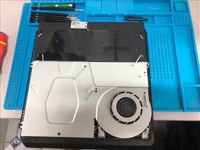 Photo de réparation de console de jeux n°2354 à Lamballe-Armor par le réparateur off on repair