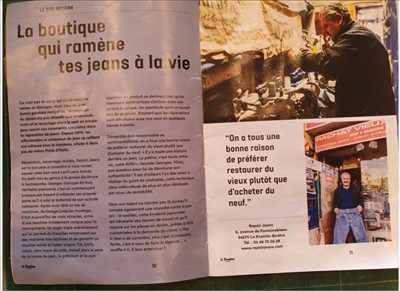 Exemple de reprise de couture n°2361 à Paris par Maverick  ,Repairjeans