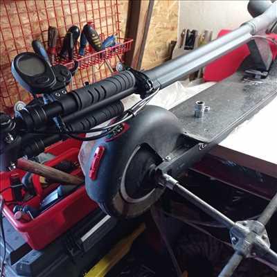 Photo de réparation de trottinette électrique n°2372 à Cugnaux par Mikadoc
