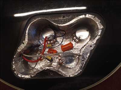 Exemple de réparation d'instrument de musique n°2381 à Aubenas par musiktech07