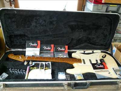Photo de réparation d'instruments de musique n°2382 à Aubenas par le réparateur musiktech07