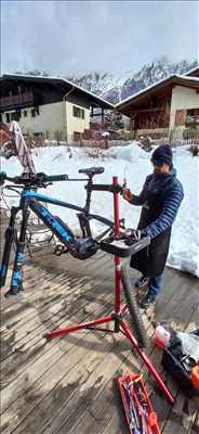 Photo de réparation de vélo n°2400 à Chamonix-Mont-Blanc par Julien