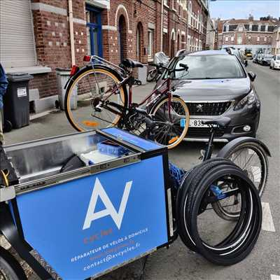 Photo de réparation de vélo n°2432 à Lille par AV Cycles