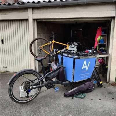 Photo de réparation de vélo n°2434 à Lille par le réparateur AV Cycles