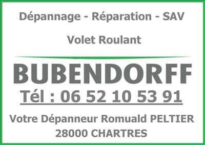 Photo de réparation d'un volet roulant n°2466 à Chartres par le réparateur Romuald